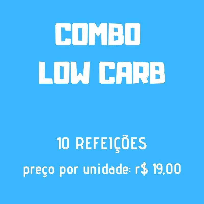 Lefit Pratos Saudáveis - Combo Low Carb – 10 Refeições