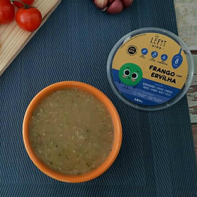 LeFit Pratos Saudaveis Frango com Ervilha 280g