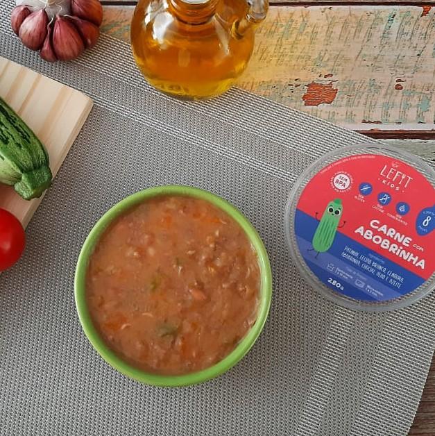 LeFit Pratos Saudaveis Carne com Abobrinha 280g