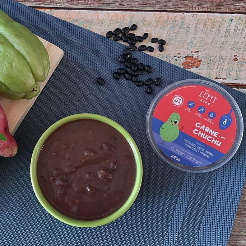 LeFit Pratos Saudaveis - Carne com Chuchu 280g