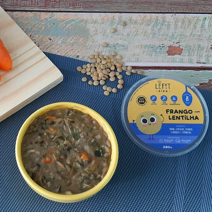 LeFit Pratos Saudaveis Frango com Lentilha 280g