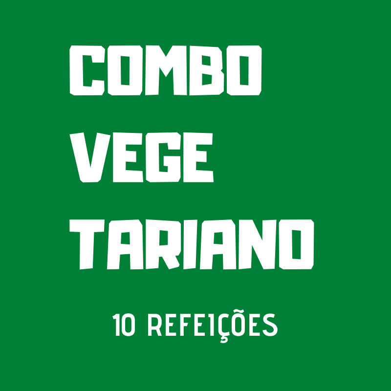 Lefit Pratos Saudáveis - Combo Vegetariano – 10 Refeições