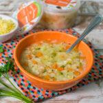 Lefit Pratos Saudáveis - Sopa de Macarrão