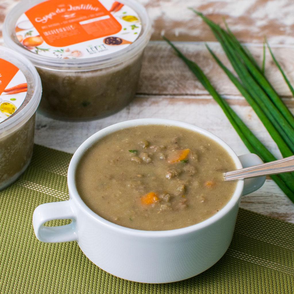 Lefit Pratos Saudáveis - Sopa de Lentilha