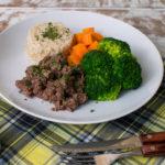 Lefit Pratos Saudáveis - Patinho Fit com Arroz Integral