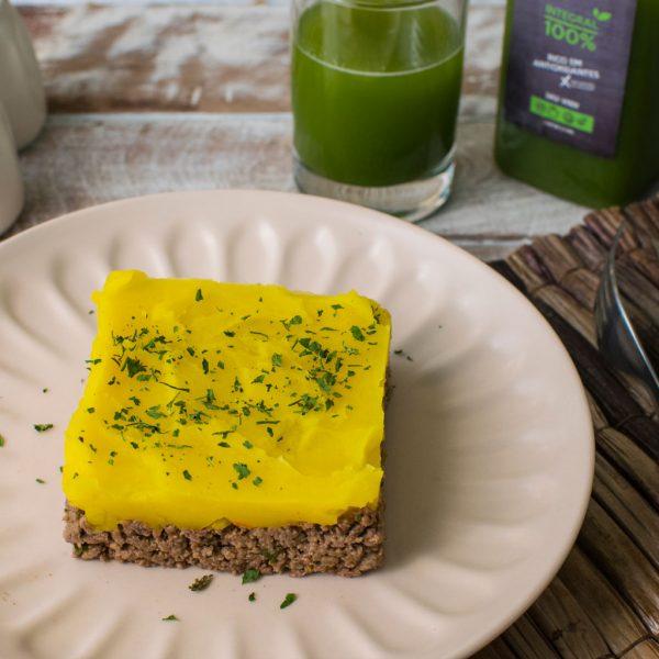 Lefit Pratos Saudáveis – Escondidinho de Carne