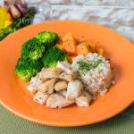 Lefit Pratos Saudáveis - Frango Fit com Arroz Integral e Legumes