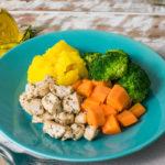 lefit pratos saudaveis - Frango com Ervas e Purê de Mandioquinha