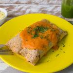 Lefit Pratos Saudáveis - Panqueca Integral de Carne