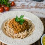 Lefit Pratos Saudáveis - Espaguete Integral a Bolonhesa