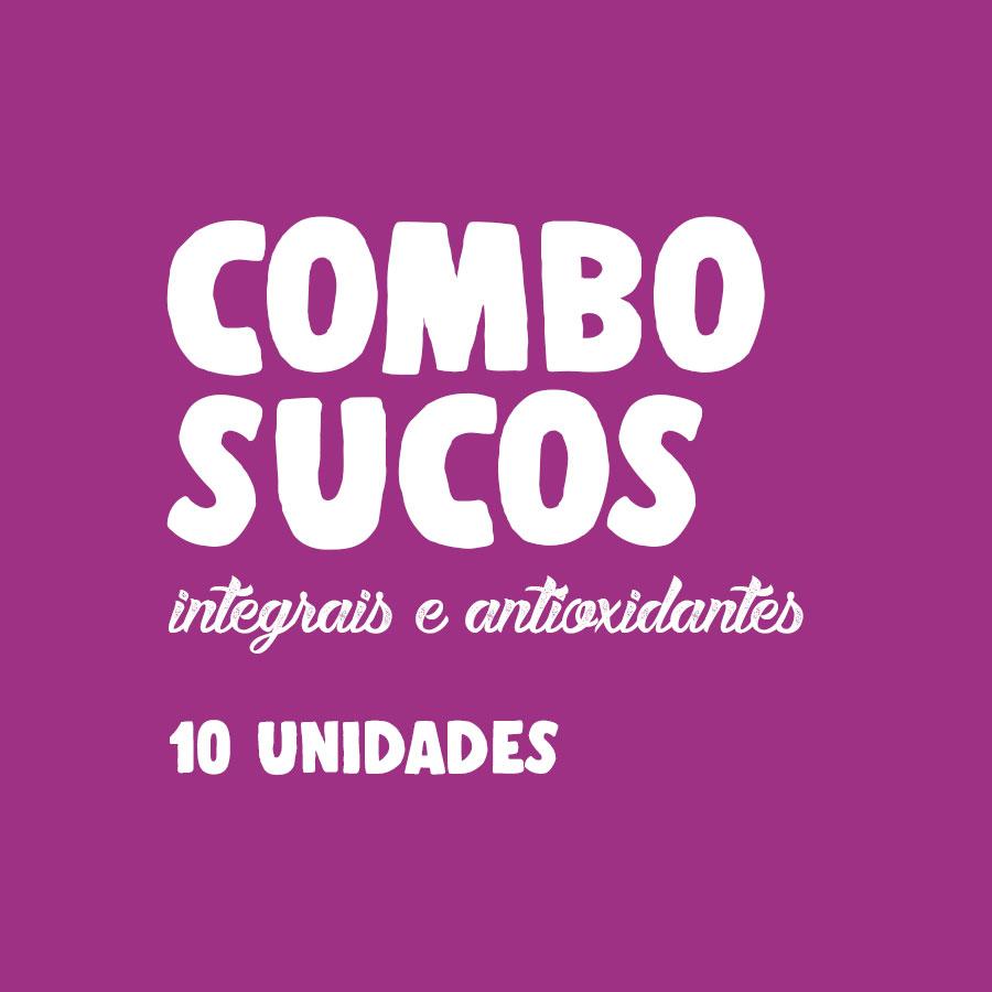 Lefit Pratos Saudáveis - Combo Sucos – 10 unidades