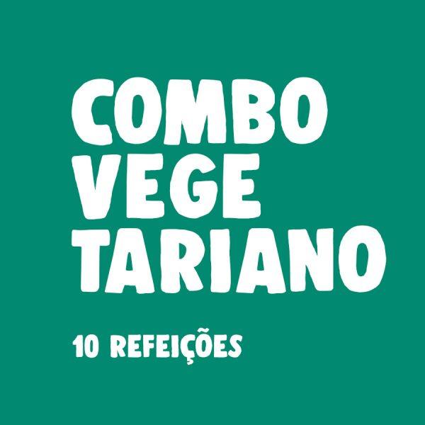 LeFit Pratos Saudáveis Combo Vegetariano