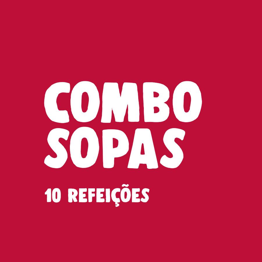 Lefit Pratos Saudáveis - Combo Sopas – 10 Refeições