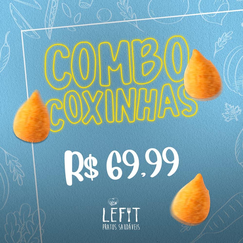 lefit pratos saudaveis - combo coxinhas