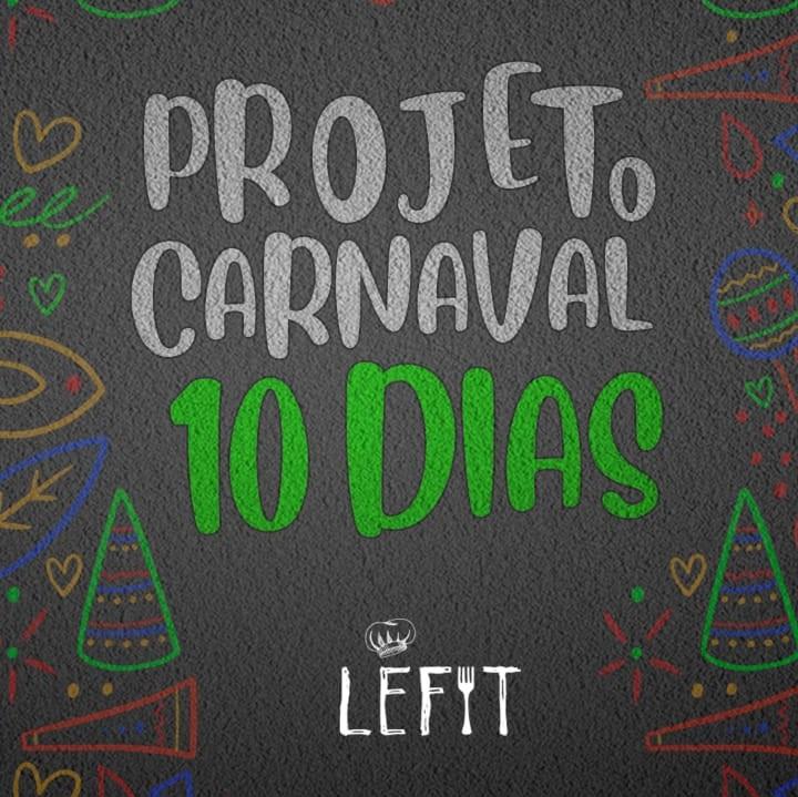 lefit pratos saudaveis - combo carnaval 10 dias