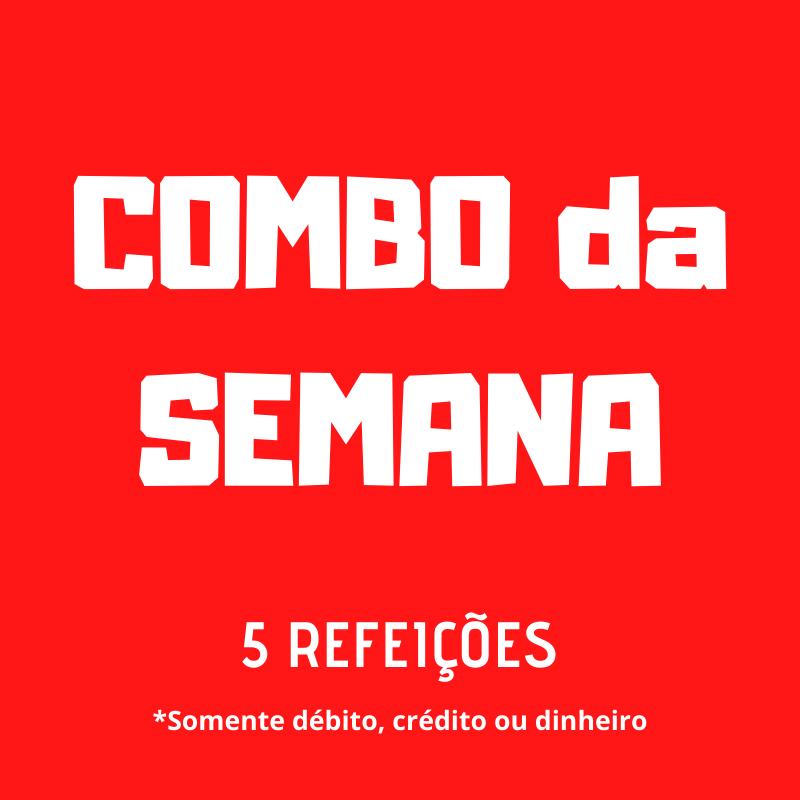 Lefit Pratos Saudáveis - COMBO DA SEMANA – 5 Refeições