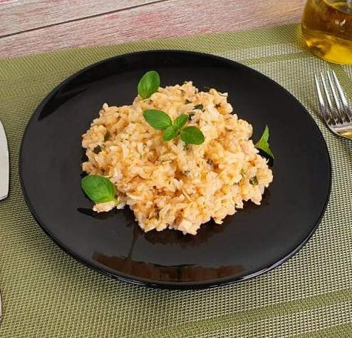 risoto de frango lefit