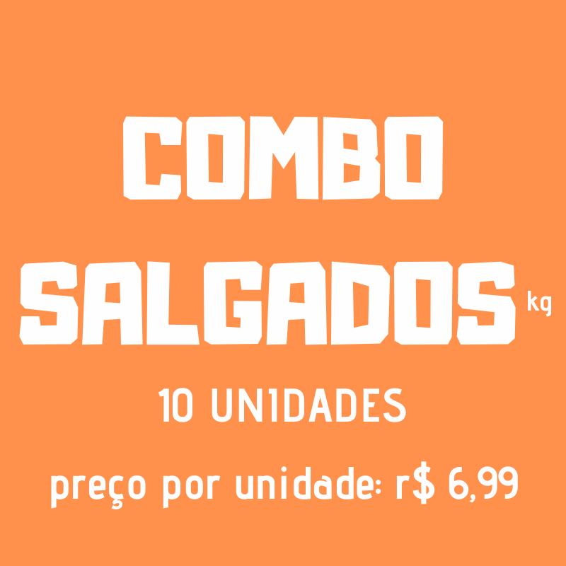 COMBO SALGADOS KG