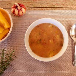 Lefit Sopa de Aipim com Carne